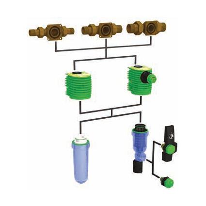 Фильтры тонкой очистки и фильтры с обратной промывкой Gruenbeck