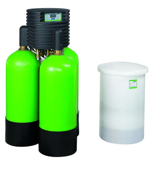 Установки умягчения воды Gruenbeck Delta-p
