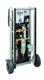 Оборудование Gruenbeck для прямого заполнения систем отопления