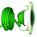 Подводные прожекторы Gruenbeck и принадлежности